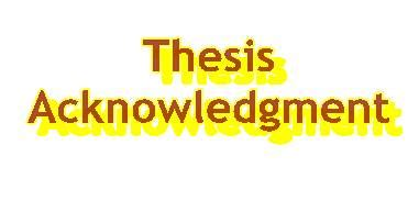 Dissertation acknowledgement - The Oscillation Band